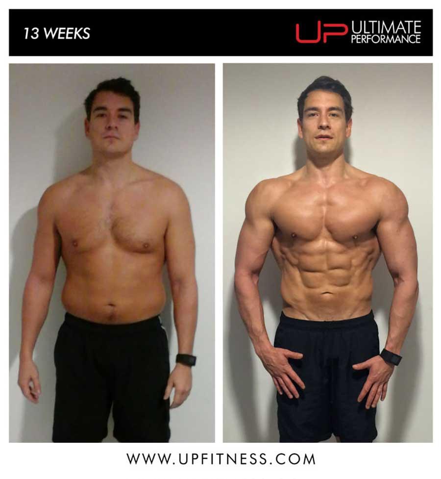 Dave's 12 Week Transformation