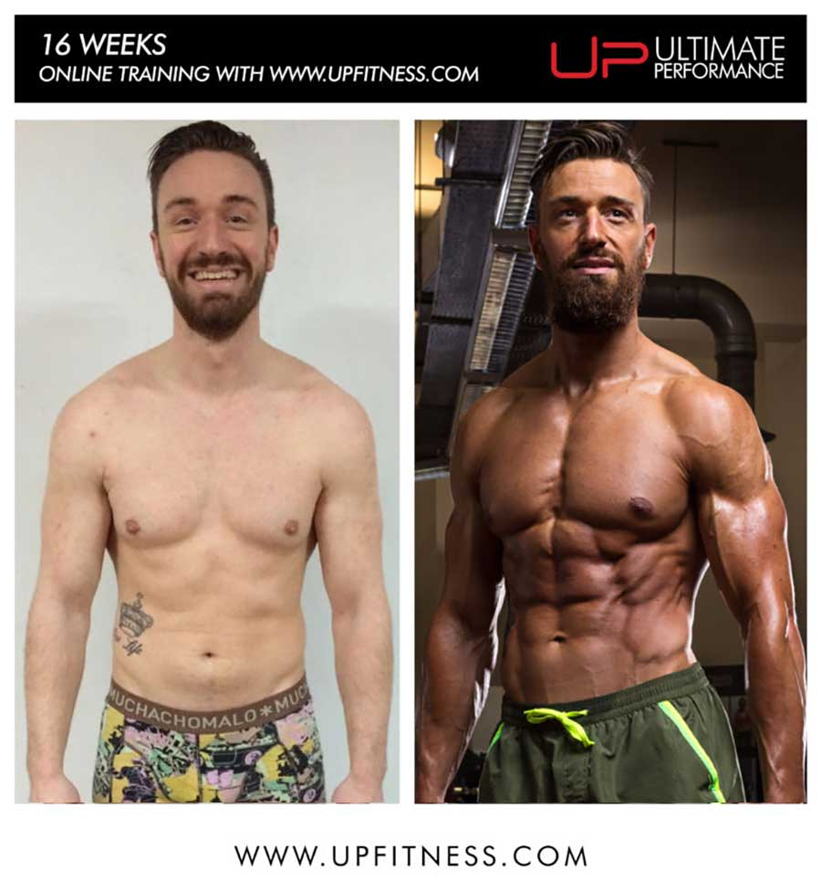 Geoffrey 16 Week Online Personal Training