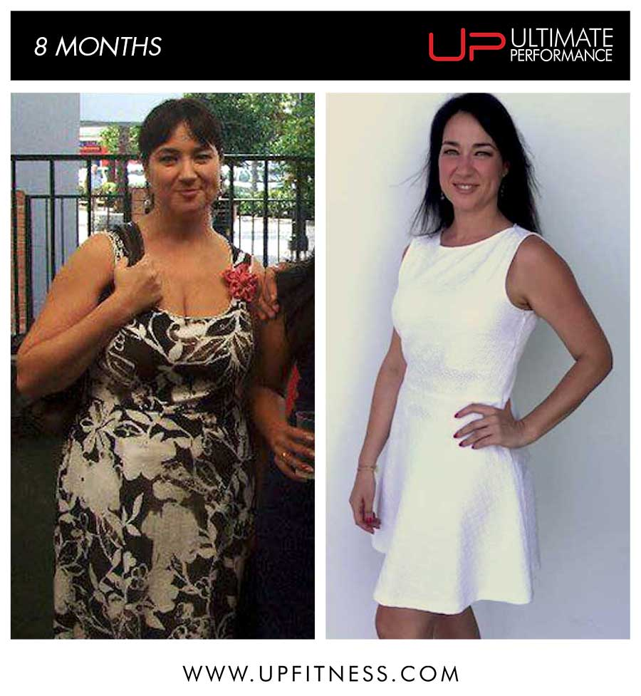 Sonia's 8 Month transformation