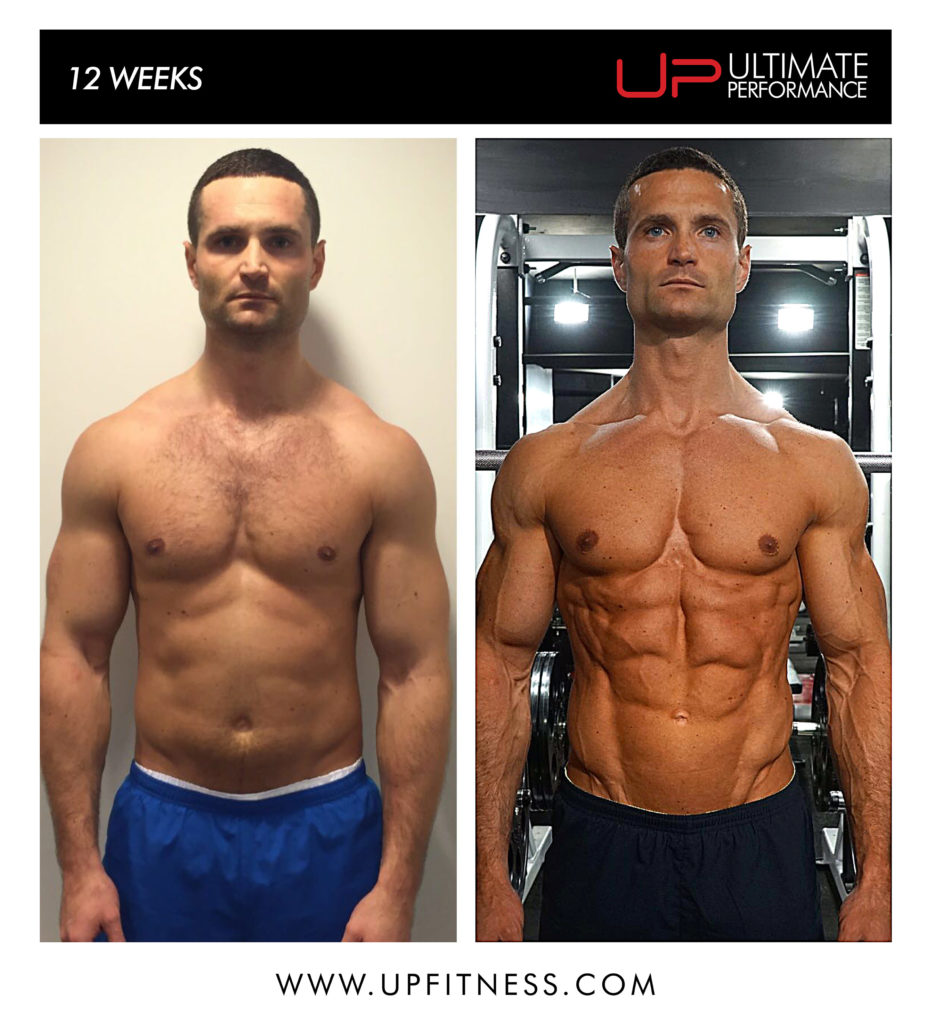 Chris Bland 12 week transformation results