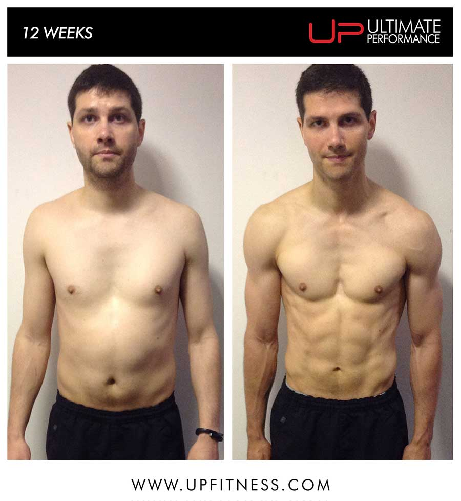Rob's 12 week transformation