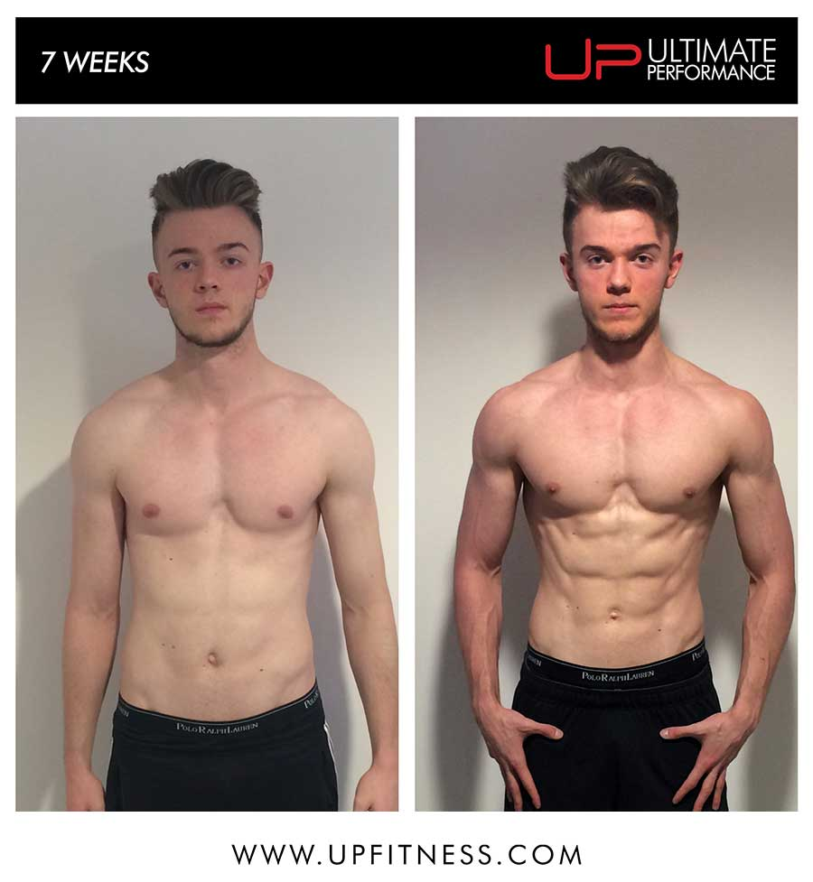 Alec's 7 week transformation