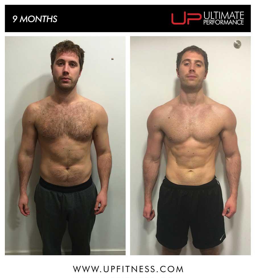 Tom's 9 month transformation