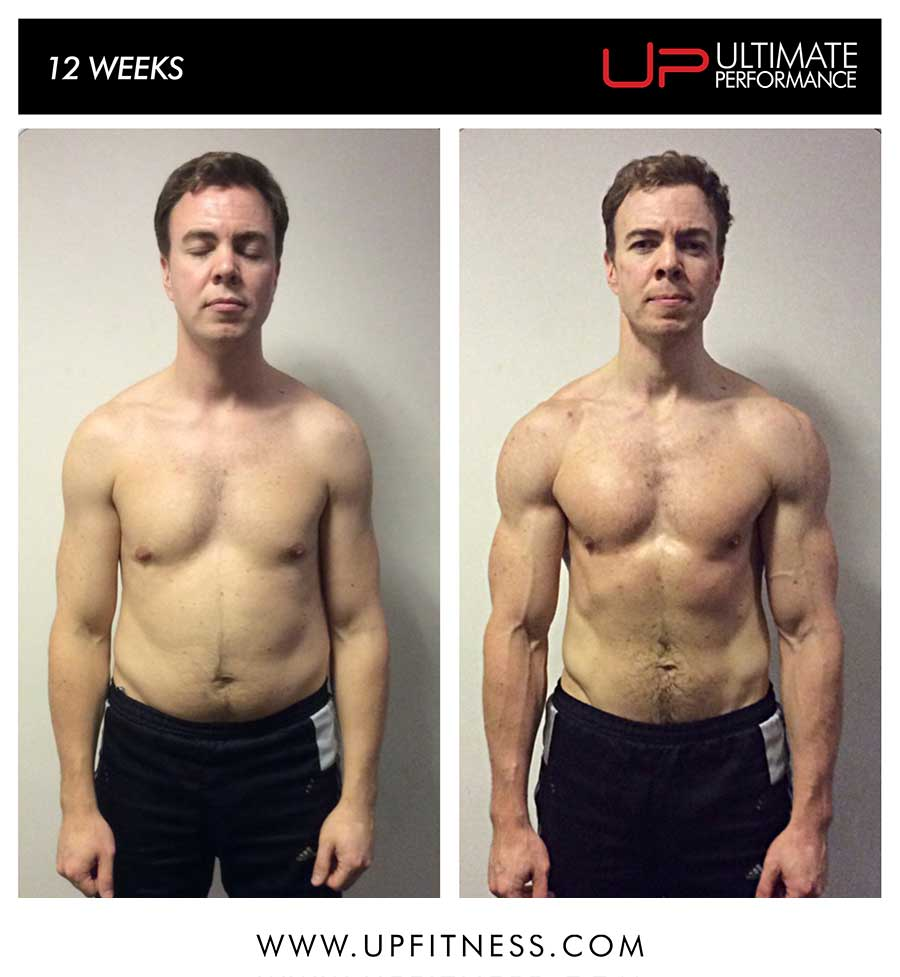 James' 12 week transformation