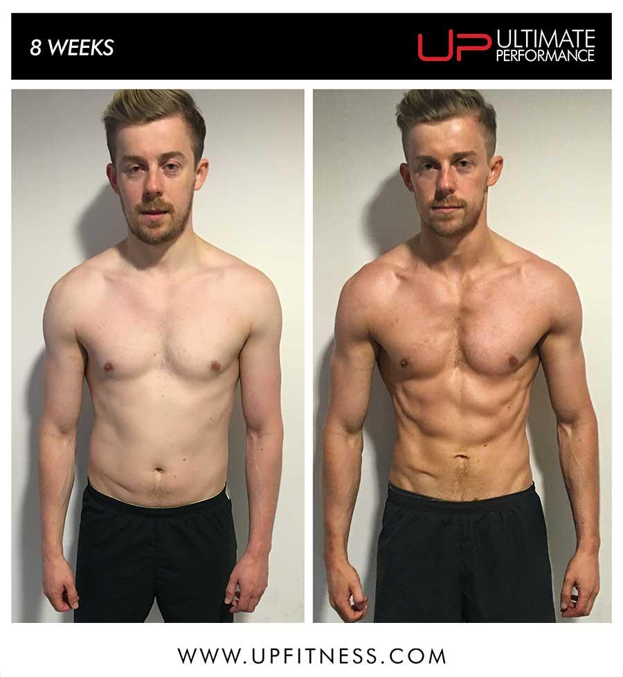 Chris's 8 week transformation