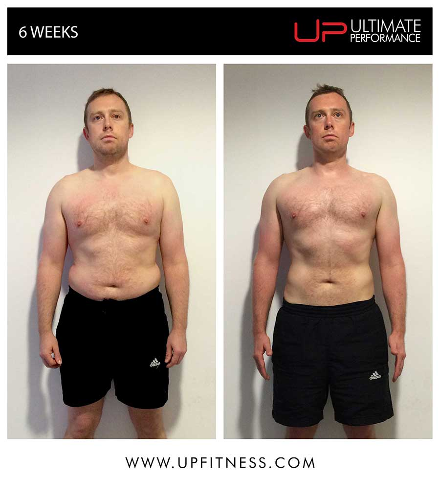 Mark's 6 week transformation