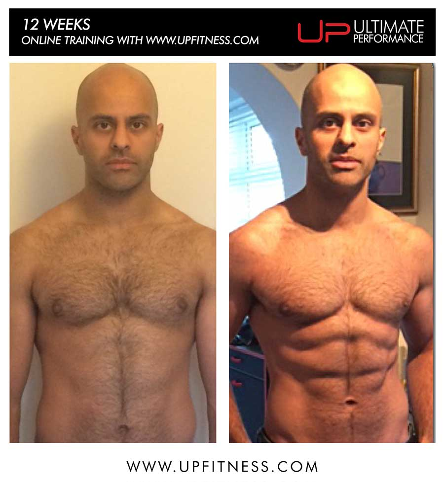 Jas's 12 week online training transformation