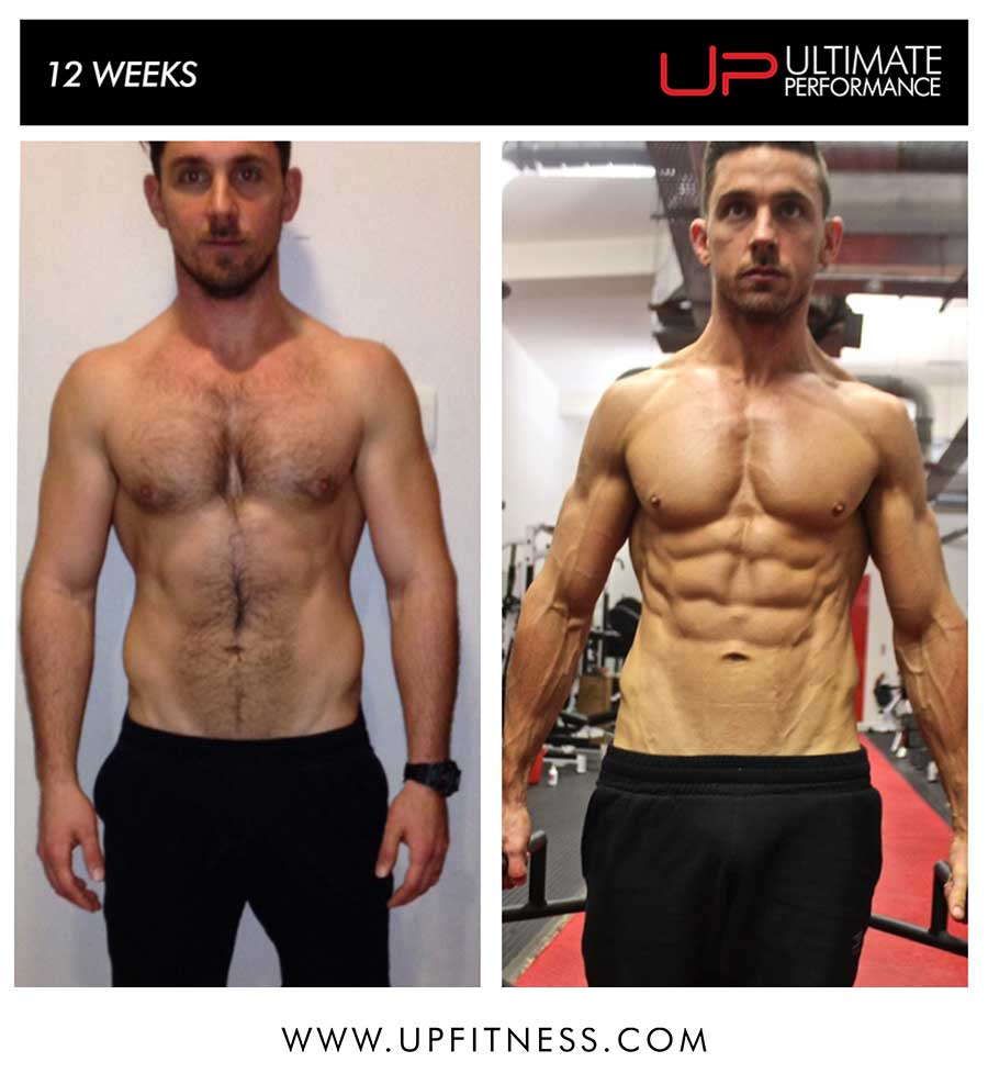 Matt's 12 week transformation