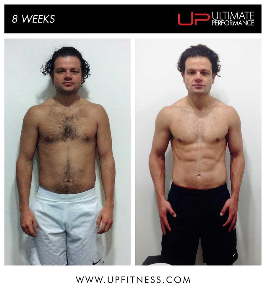 Daniel's 8 week transformation