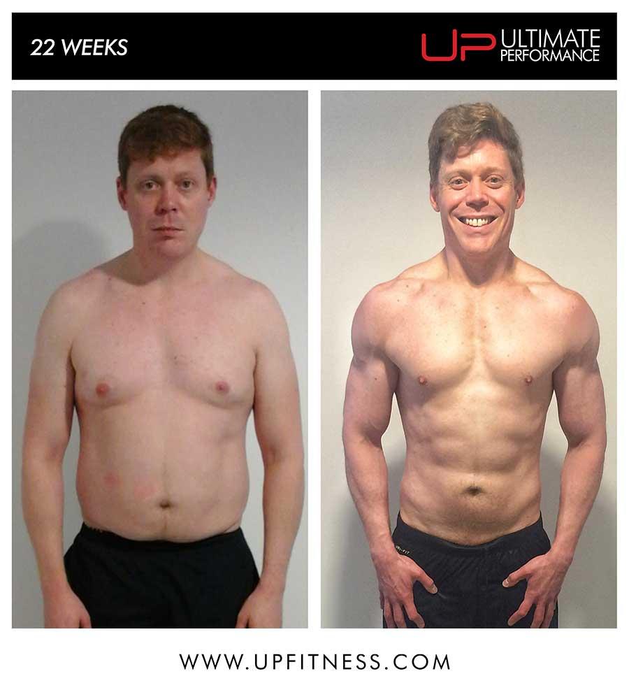 David's 22 week transformation