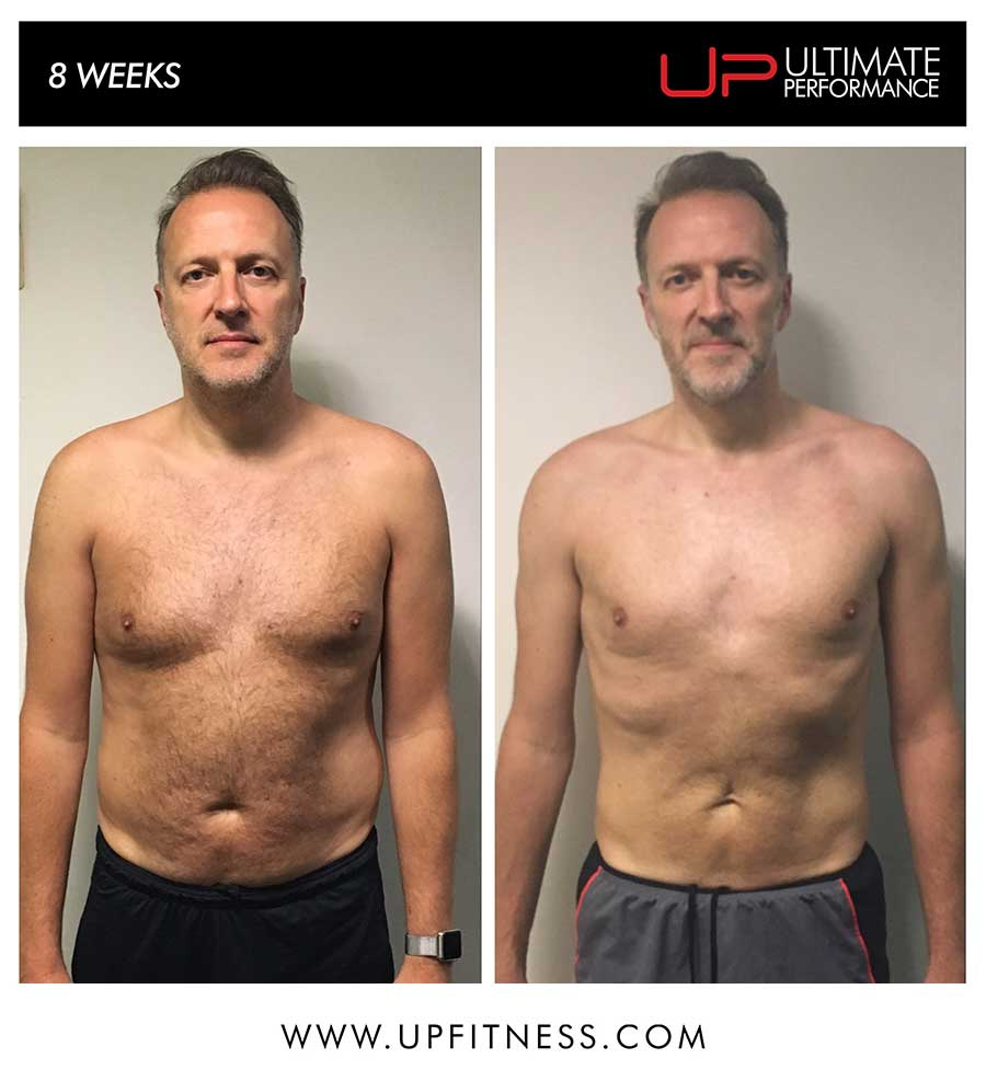 Peter's 8 week transformation