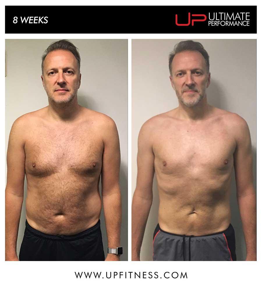 Peter's 8 week transformation