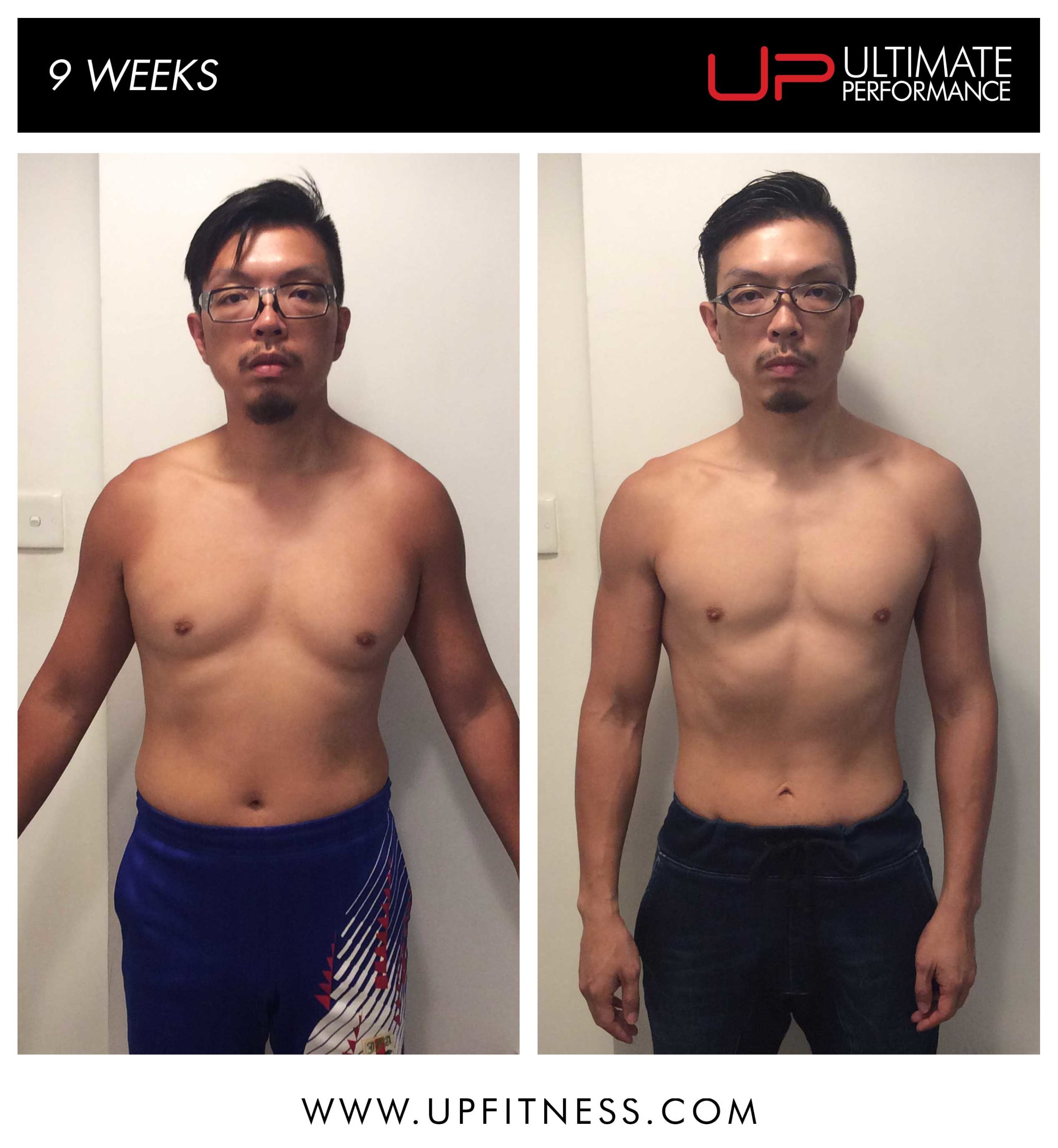 Frank's 9 week transformation
