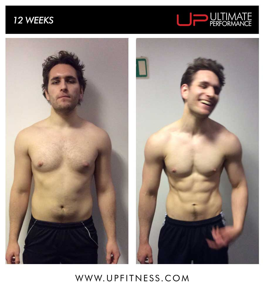 Tom's 12 week tranformation