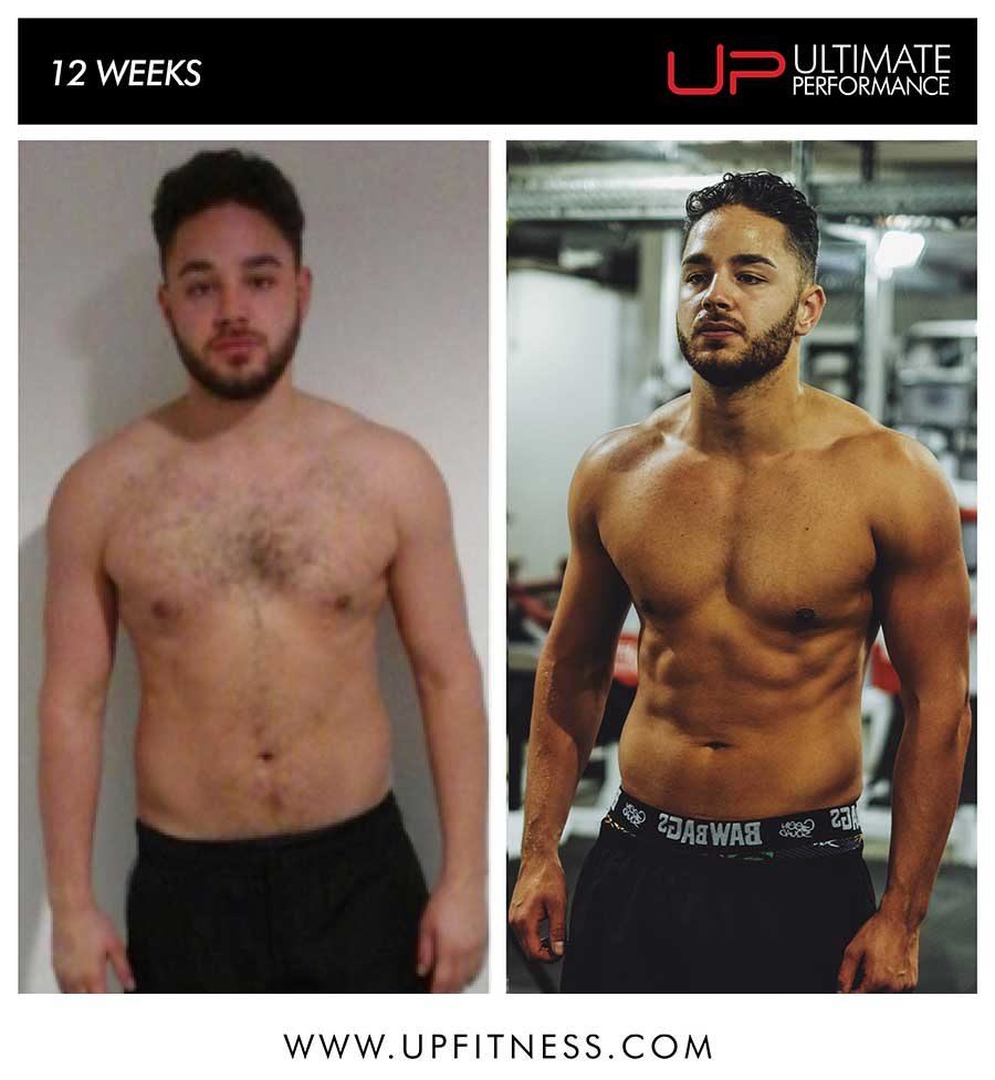 Adam's 12 week transformation