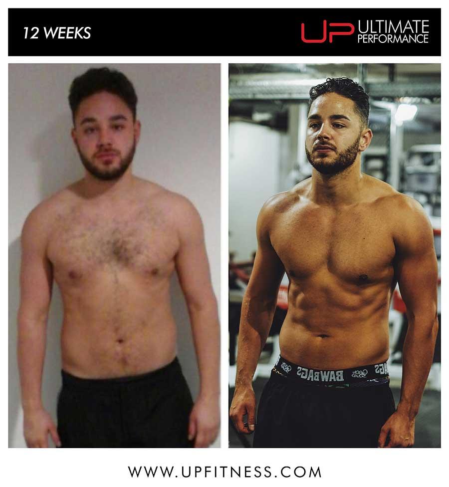 Adam's 12 week transformation