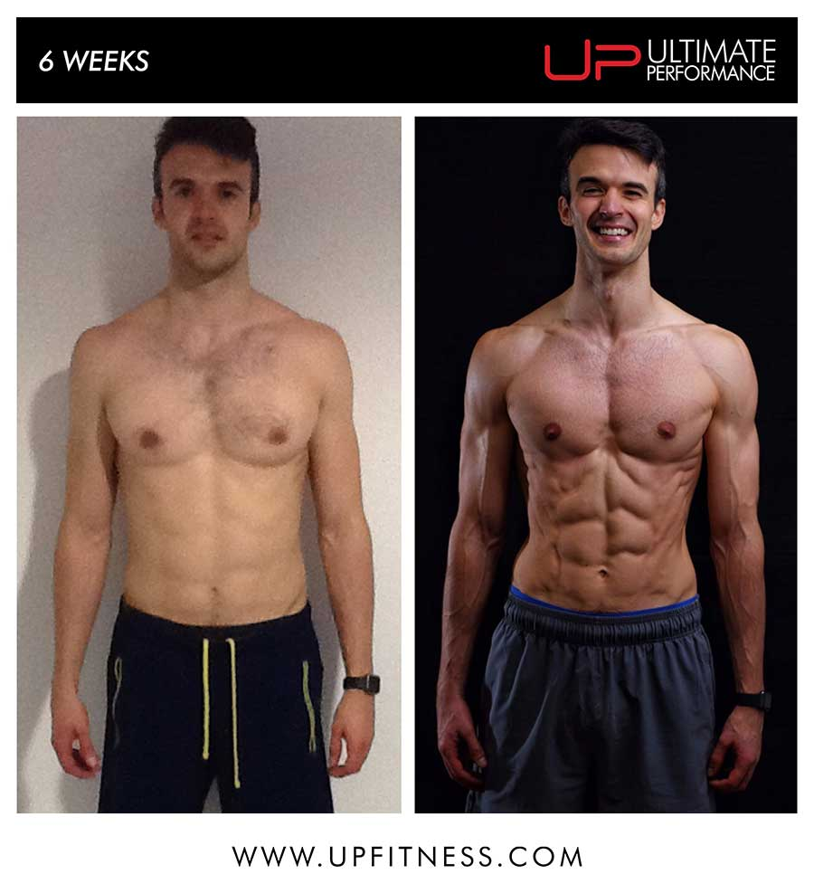 Paul's 6 week transformation