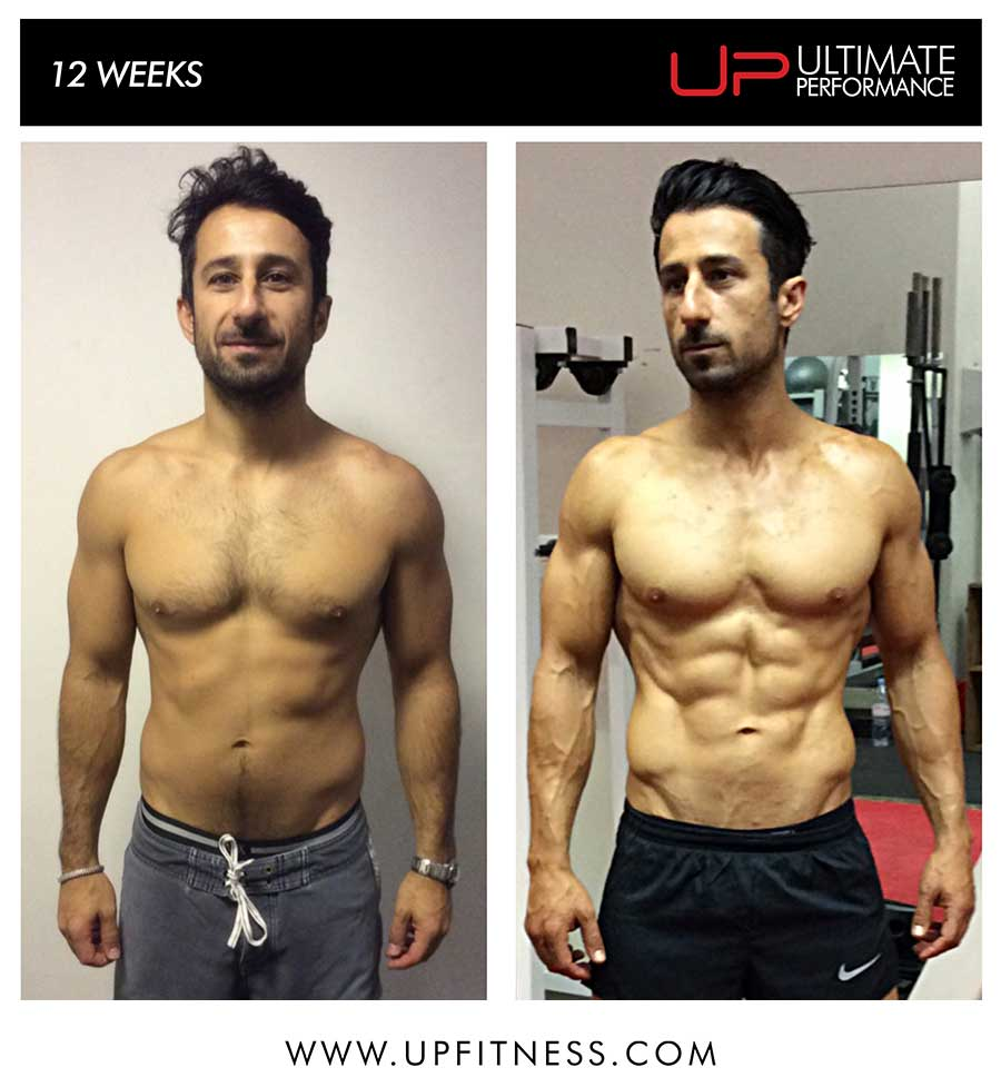 Sepand's 12 week transformation