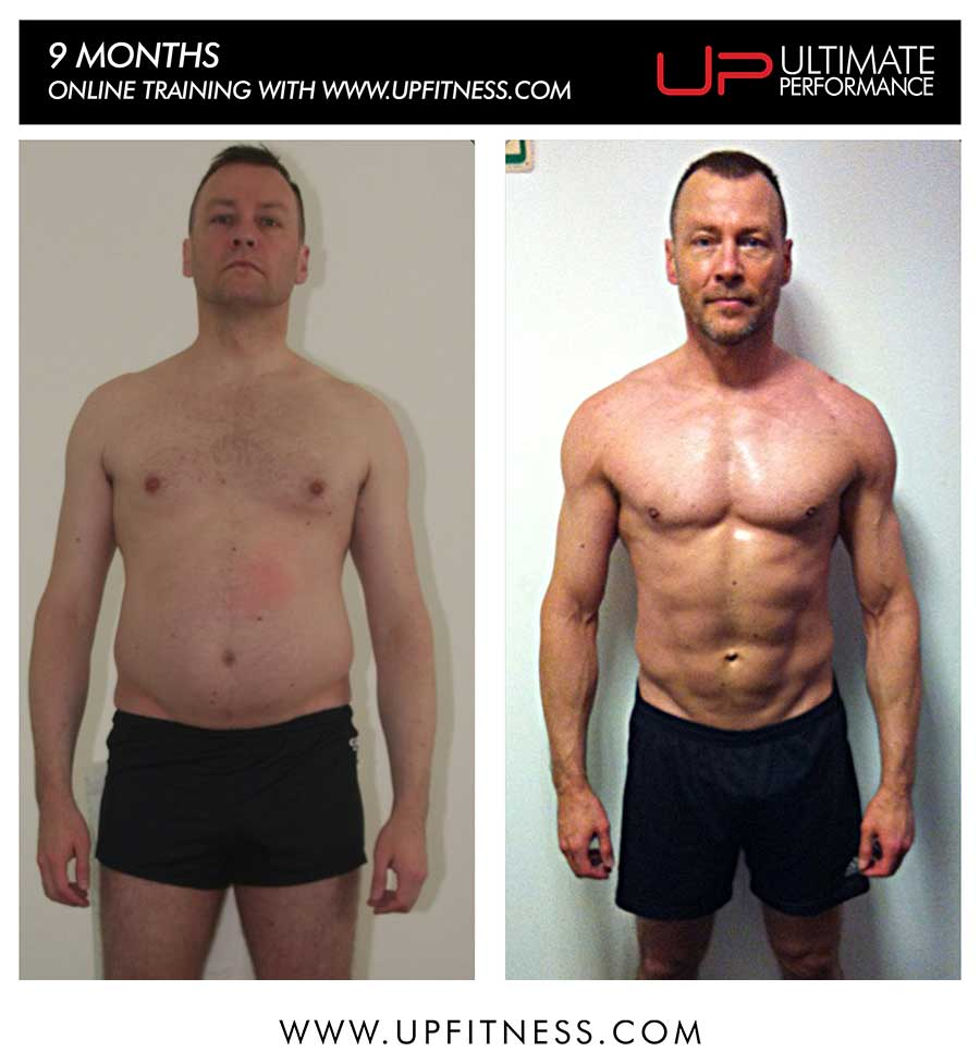 fabrice's 9 month transformation
