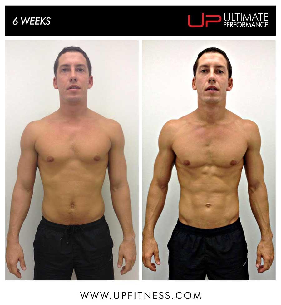 Benoit's 6 week transformation