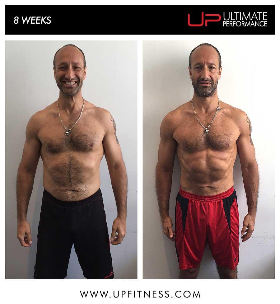 Ruben's 8 week transformation