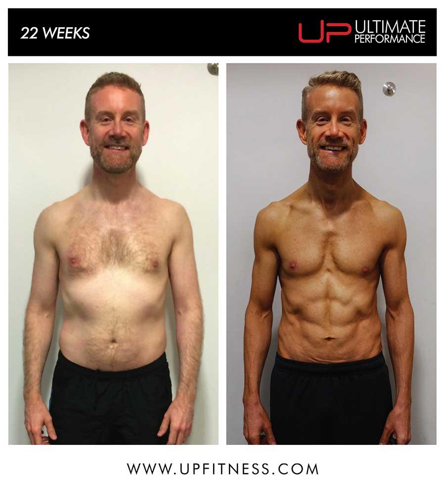 gavin's 22 week transformation