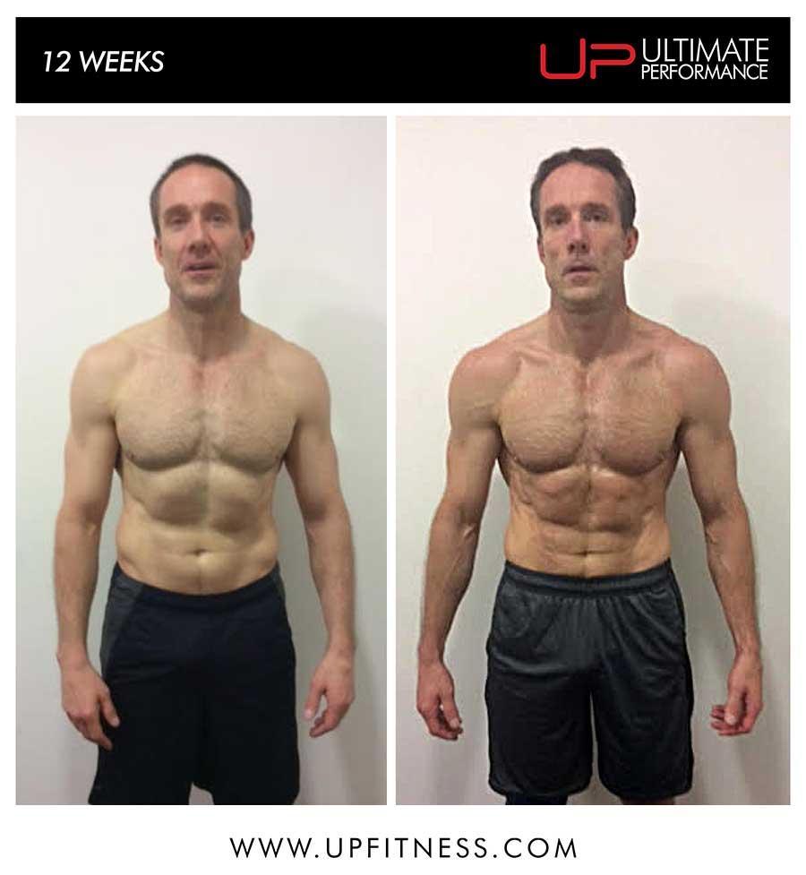 Greg's 12 week transformation