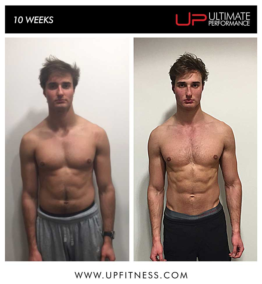 Stephen's 10 week transformation