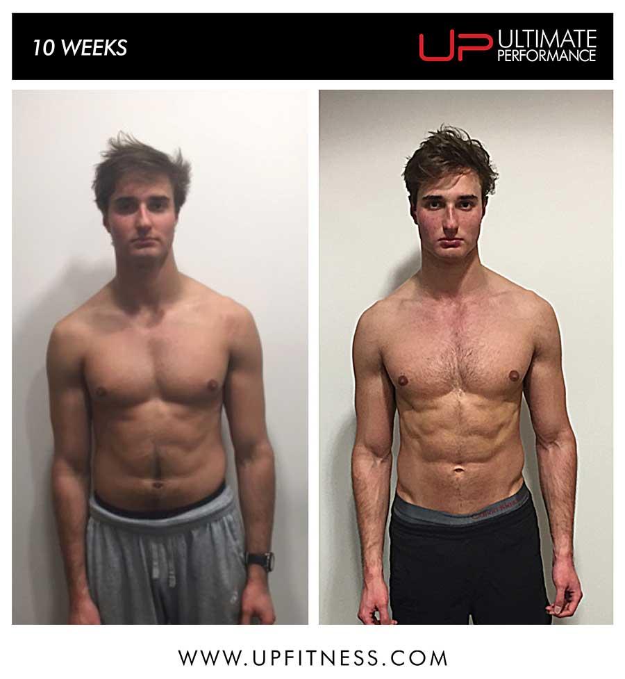 Stephen's 10 week transformation