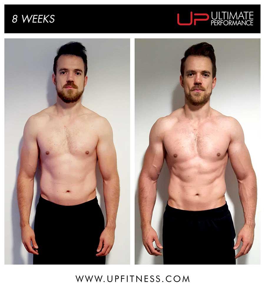 Adam's 8 week transformation
