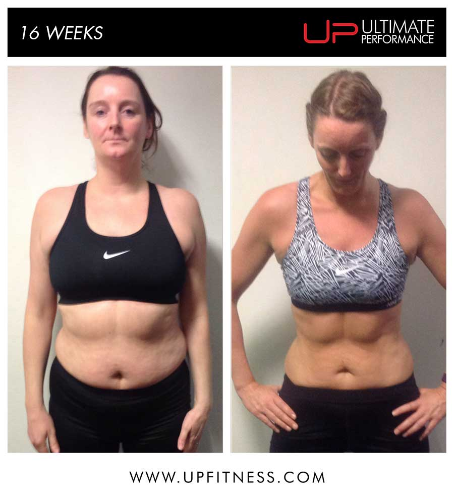 Suzanne's 16 Week Transformation