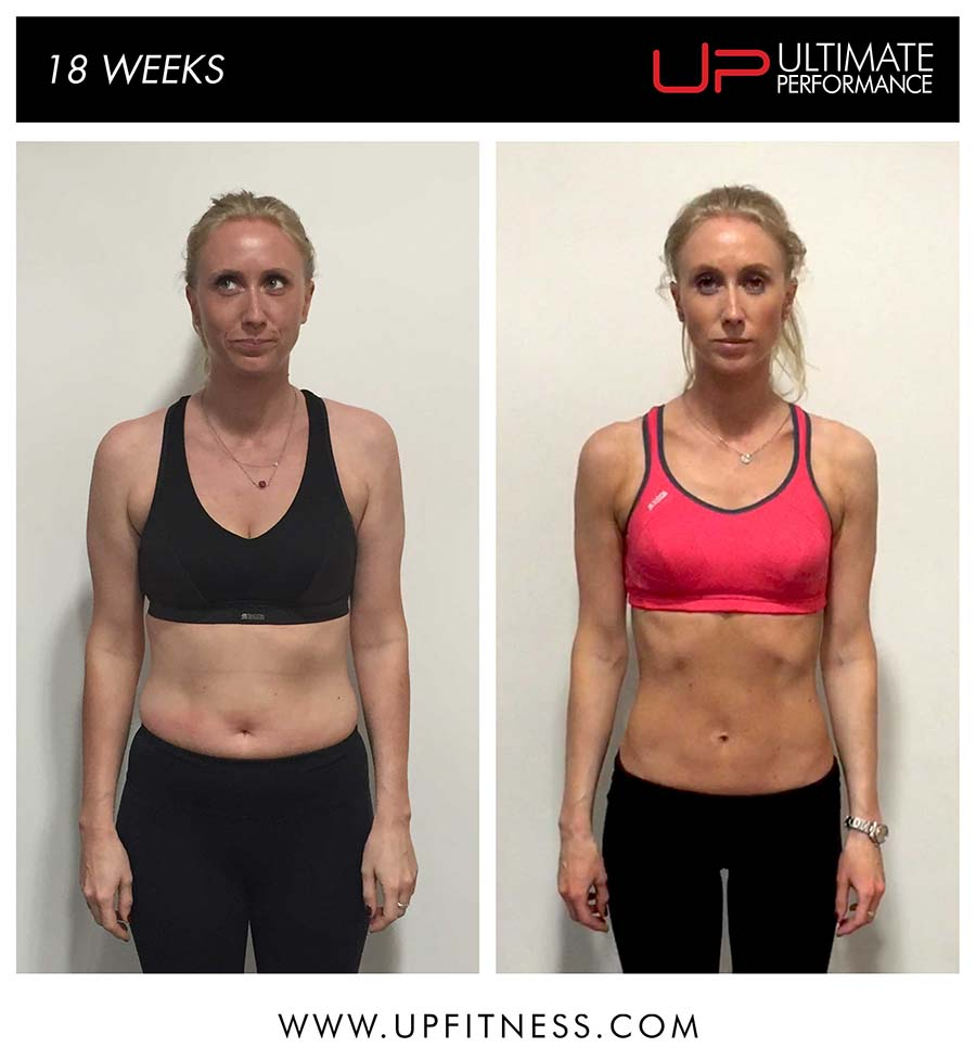 Margie's 18 Week Transformation