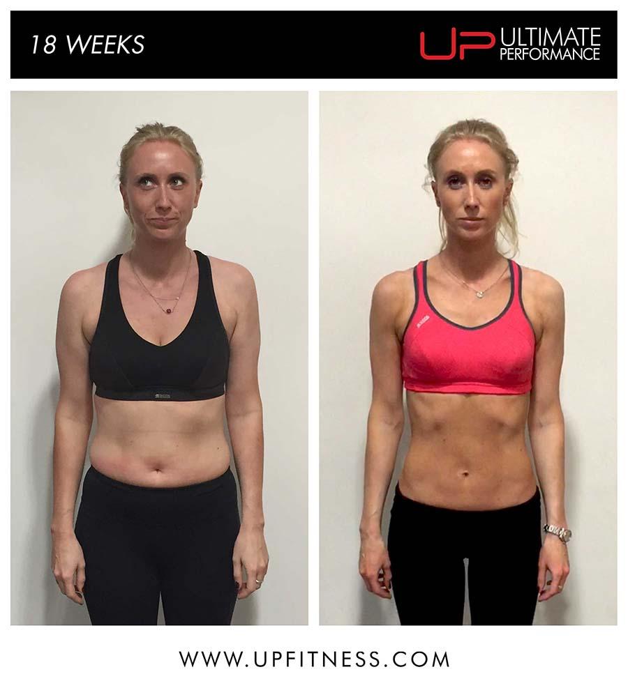 Margie's 18 Week Transformation