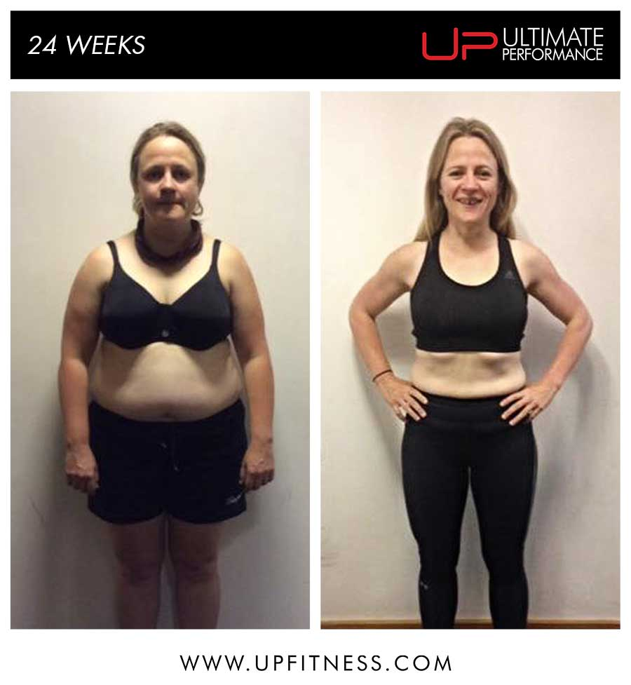 Kate's 24 Week Transformation