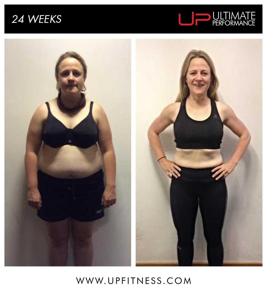 Kate's 24 Week Transformation