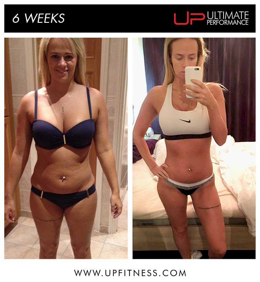 Lindsey 6 Week Transformation