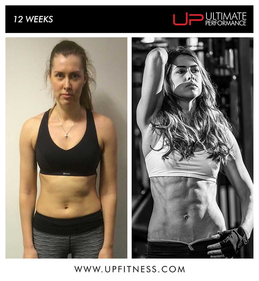 Jevgenia 12 Week Transformation