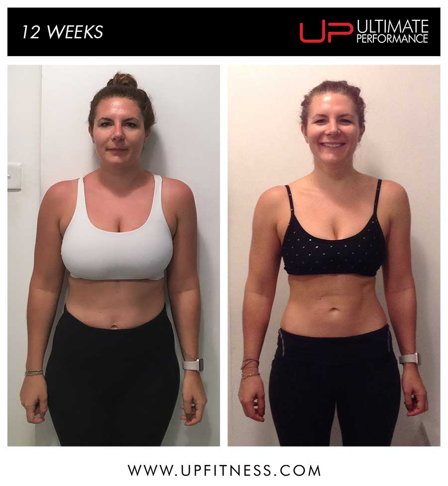 Becky 12 week Transformation - Hong Kong
