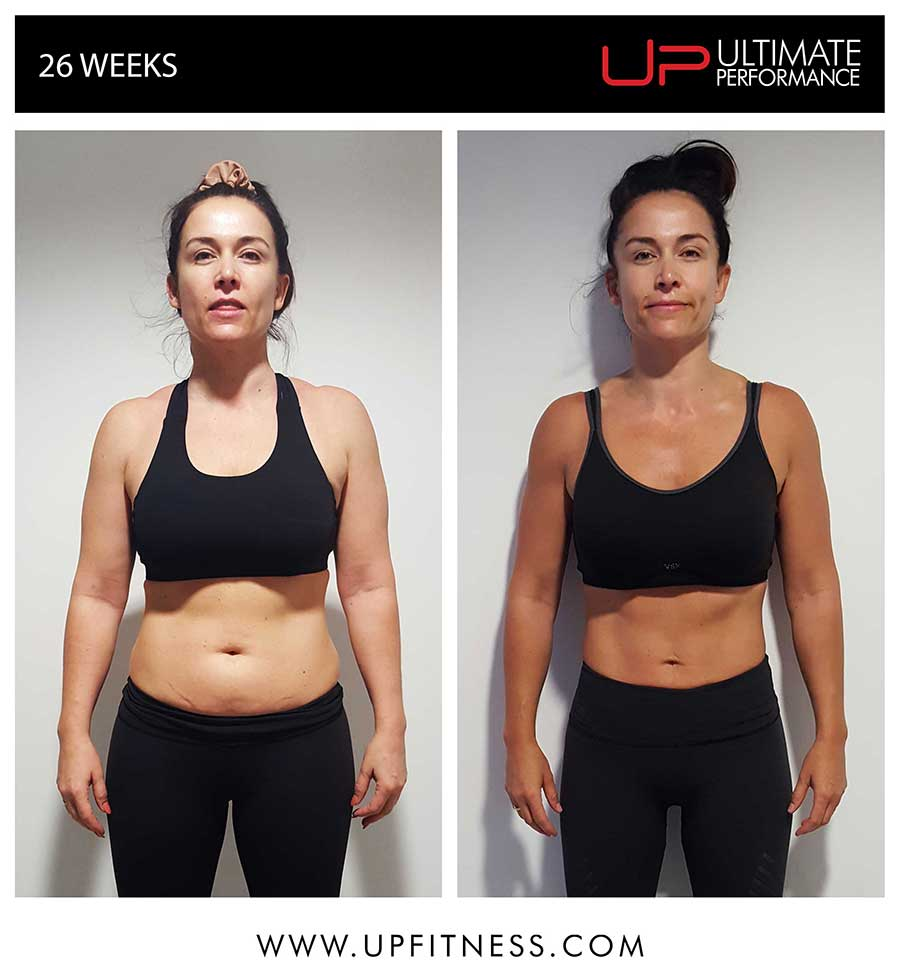 CLaire - 26 Week Transformation
