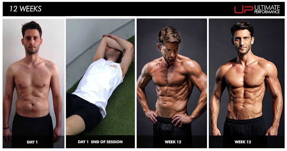 Joes's 12 week transformations