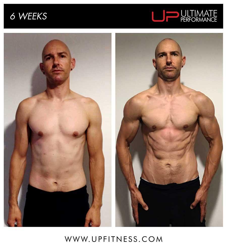 David's 6 week transformation