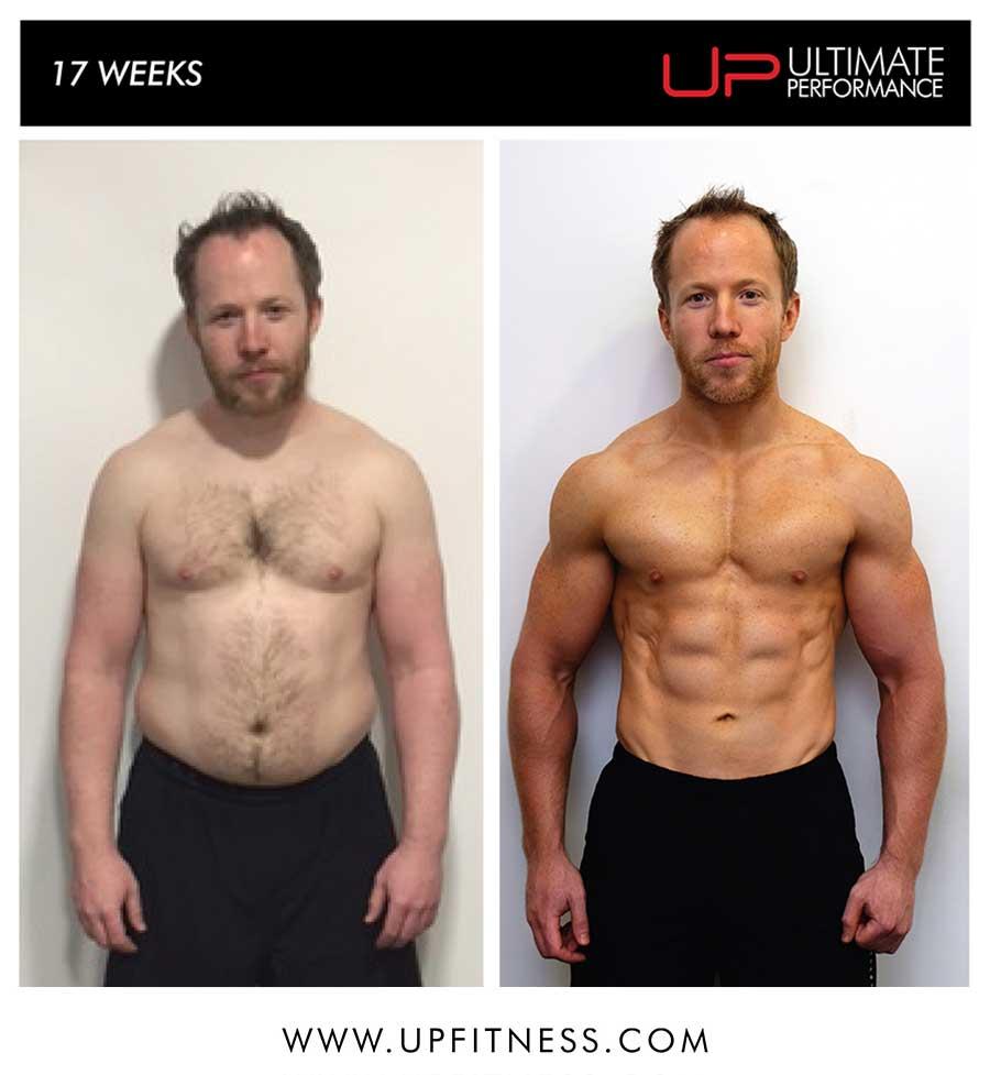 Rhys's 17 week transformation