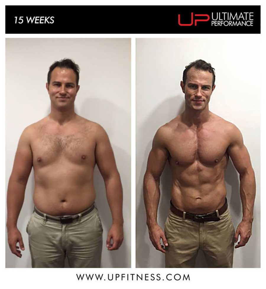 Tom's 15 week transformation
