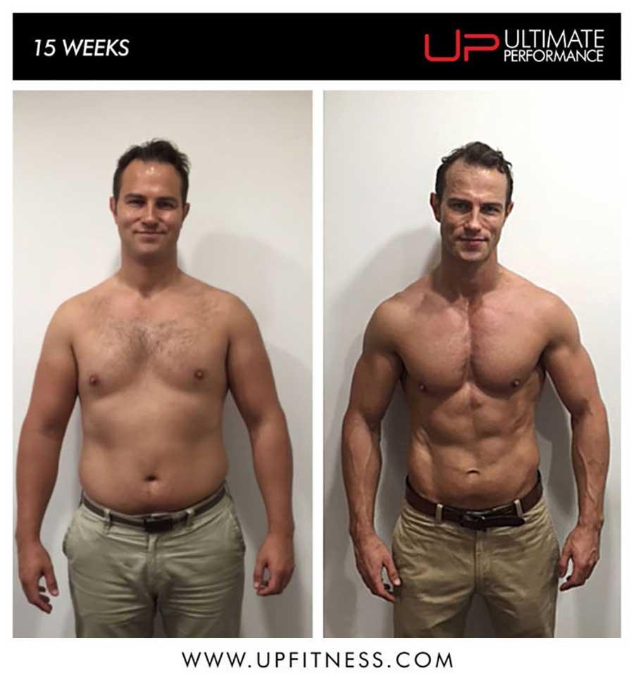 Tom's 15 week transformation