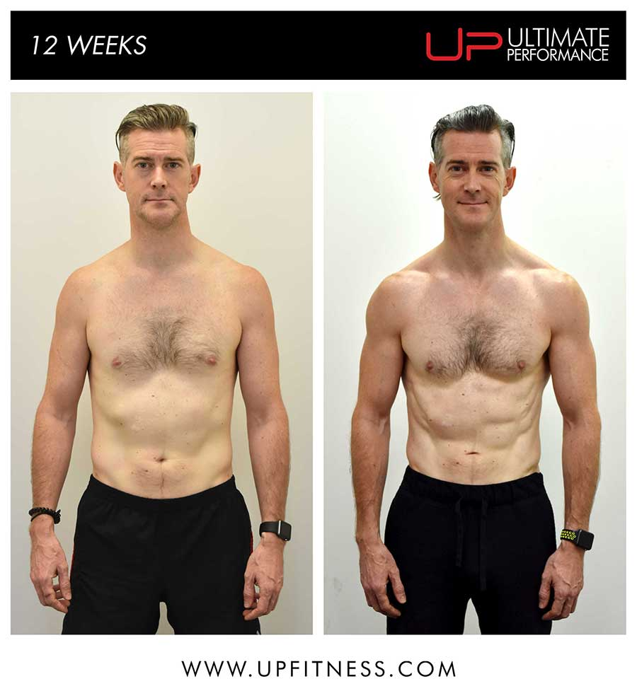Nathan's 12 week transformation