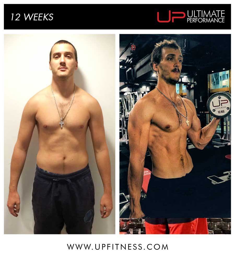 Robus's 12 week transformation