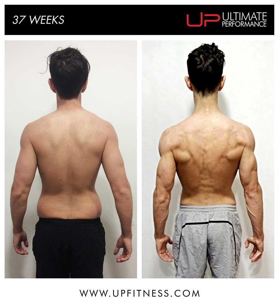 Scott's 37 week transformation