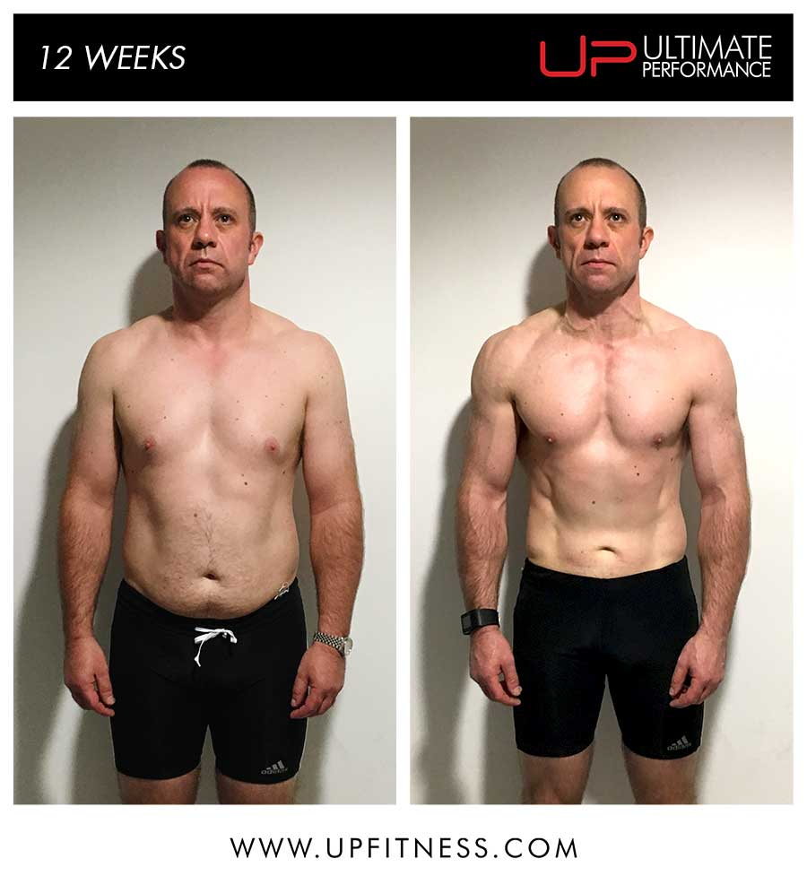 Lee's 12 week transformation