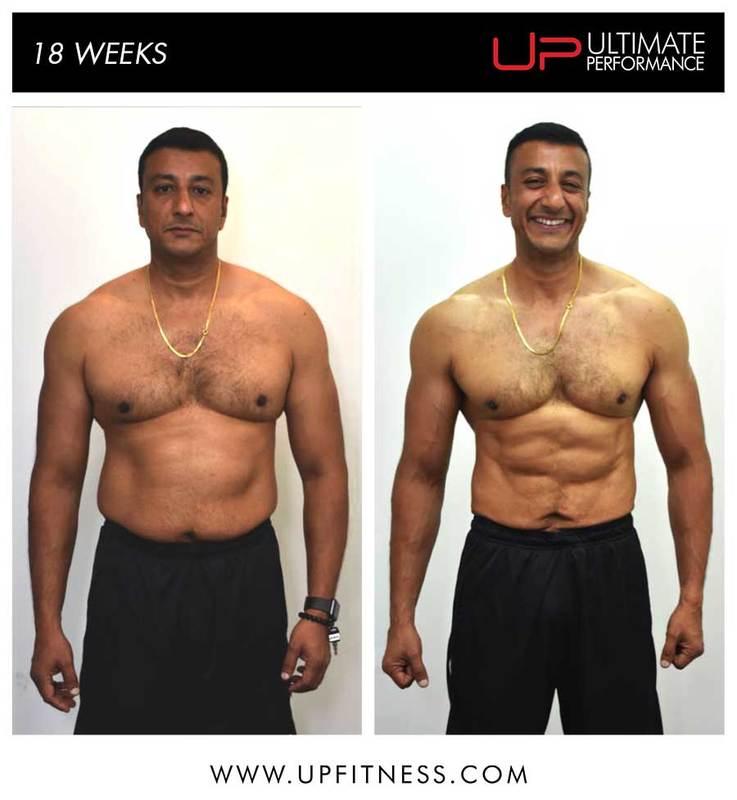 Nurani's 18 week transformation