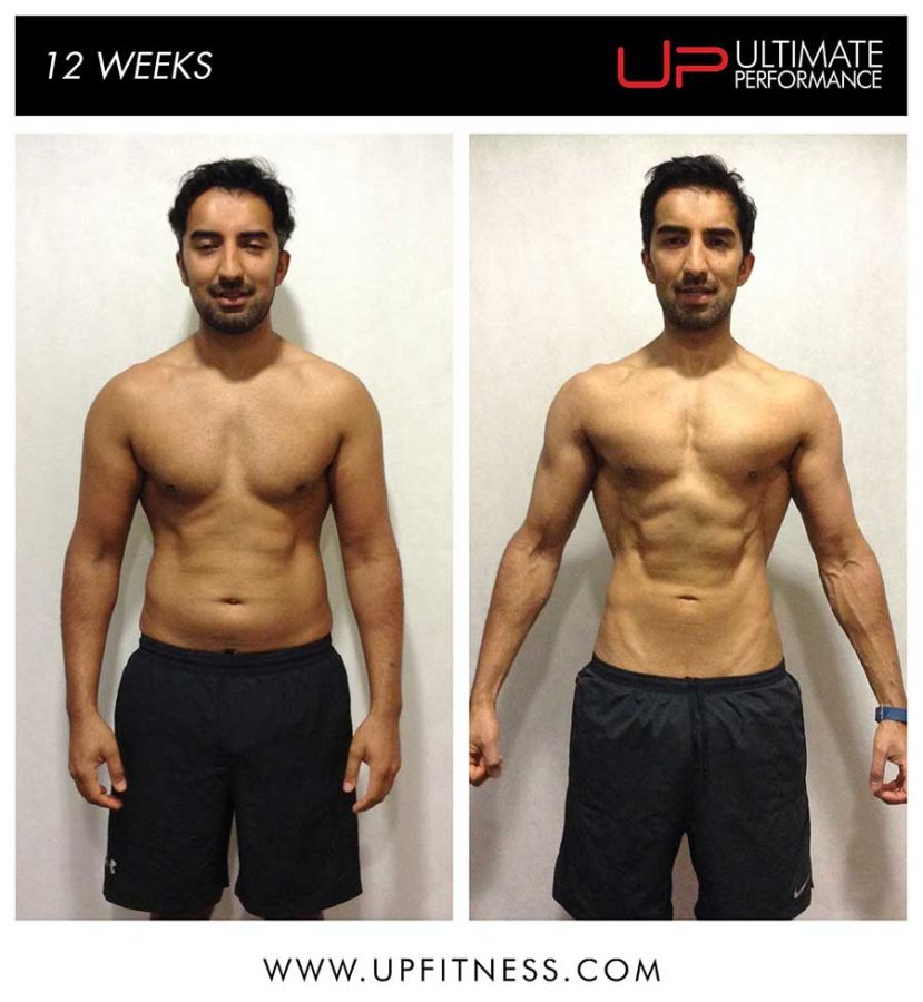 Bivek's 12 week transformation